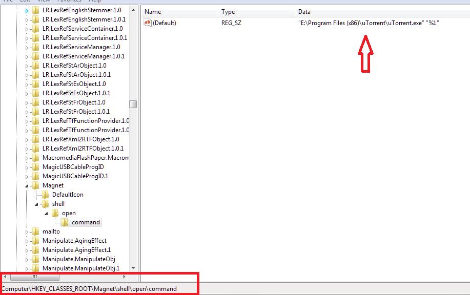 Handle Magnet Links Utorrent Download