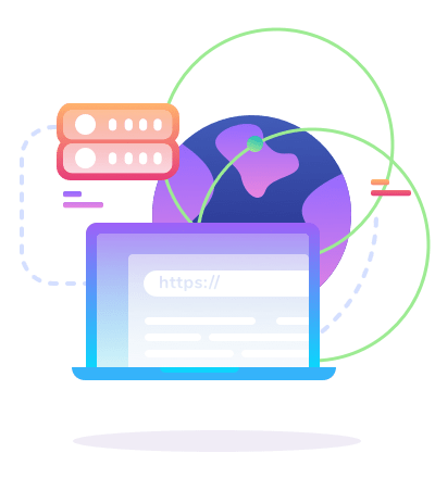 icon laptop globe db | Metserve Media
