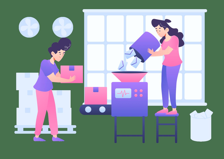 illustrations product stratup | Metserve Media